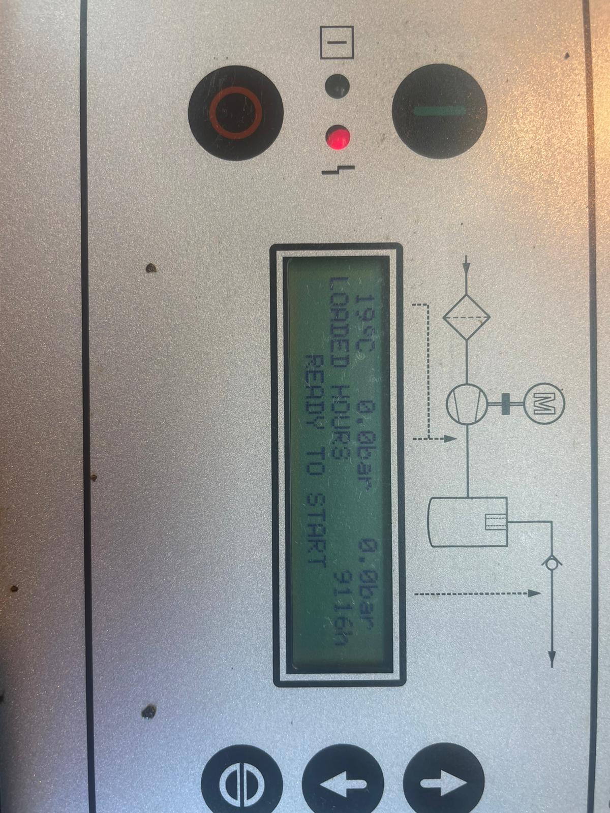 Compair L07 10hp 40cfm