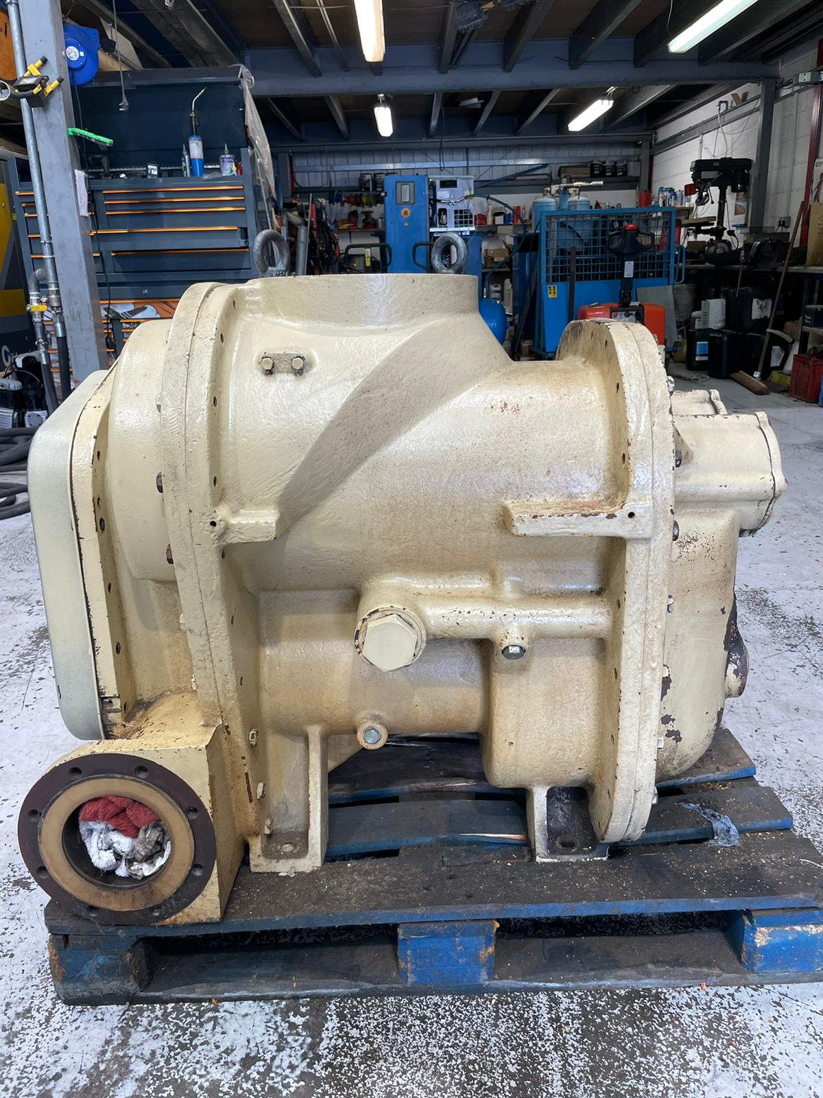 Ingersoll Rand M300 twin stage air end