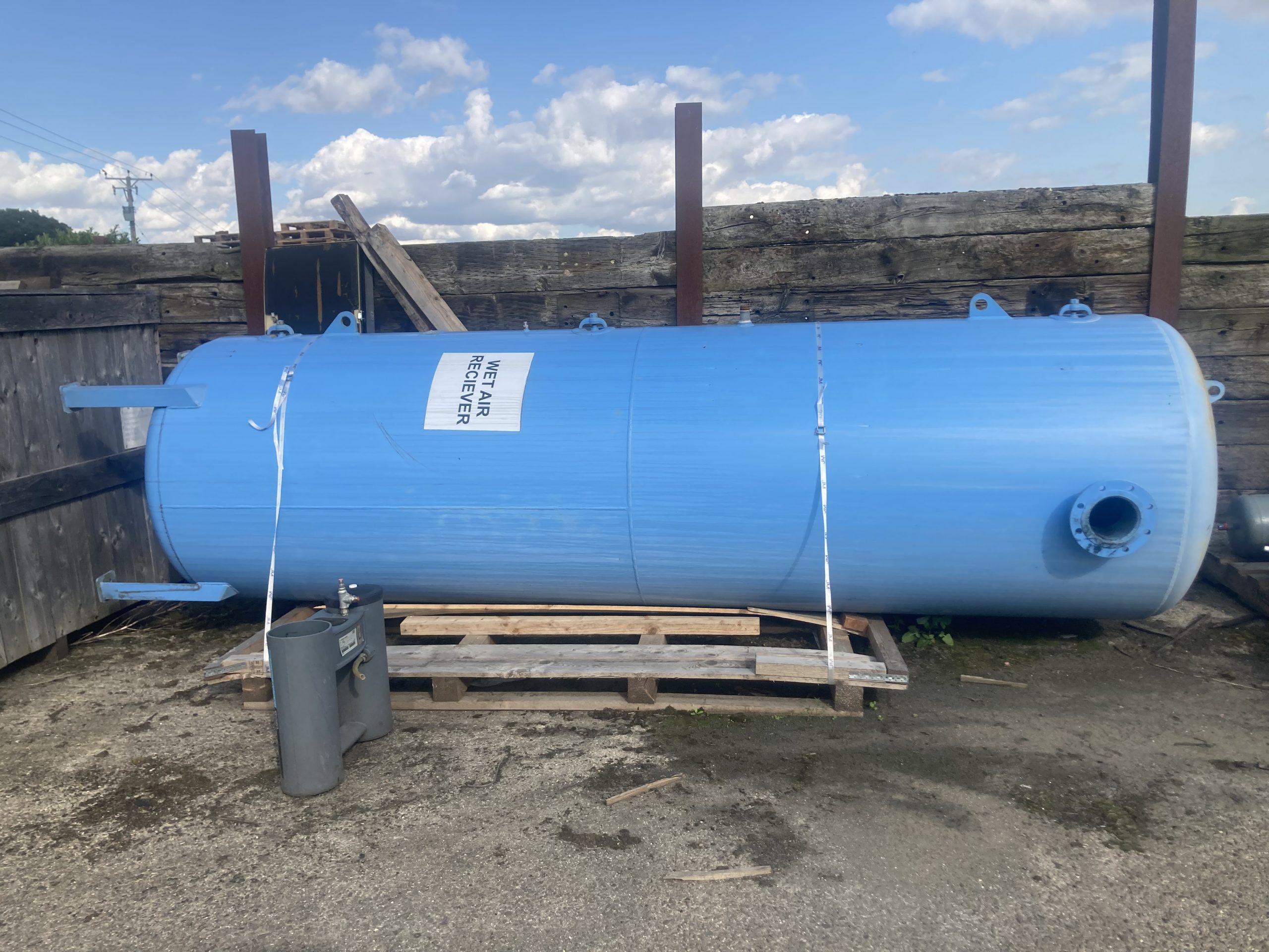 Vertical Air Receiver 5080 litre 11bar