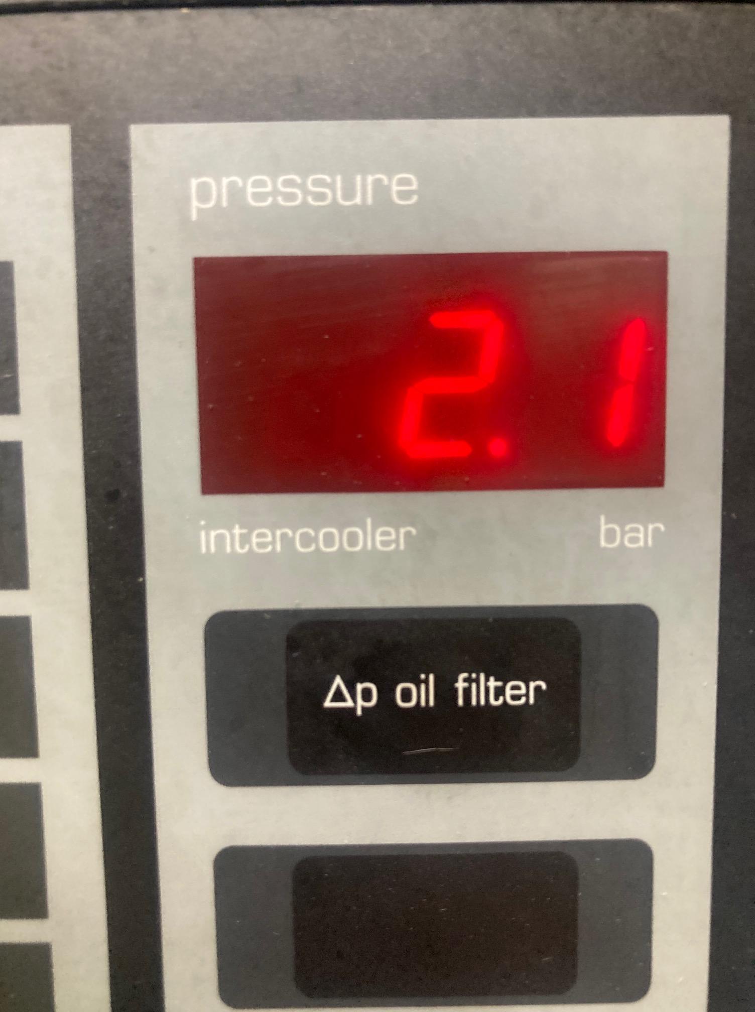 Atlas Copco ZR5-52 400kW 8bar oil free screw compressor