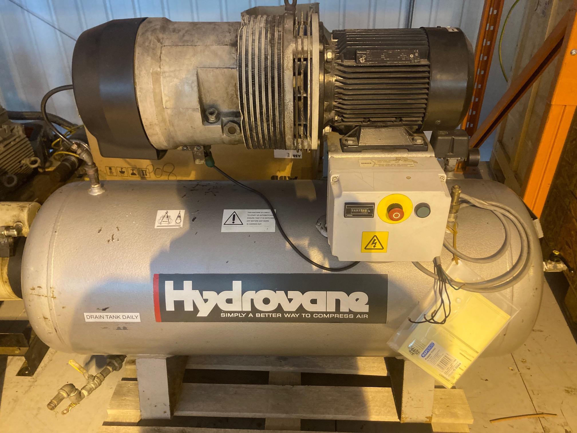 Hydrovane 504 RM 20cfm receiver mounted vane compressor