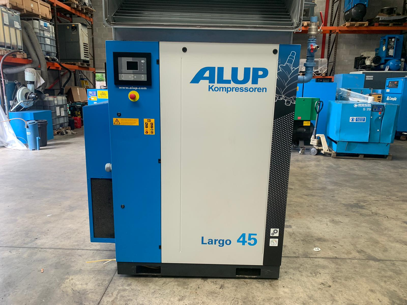 ALUP LARGO 45 2019 45kW fixed sped air compressor