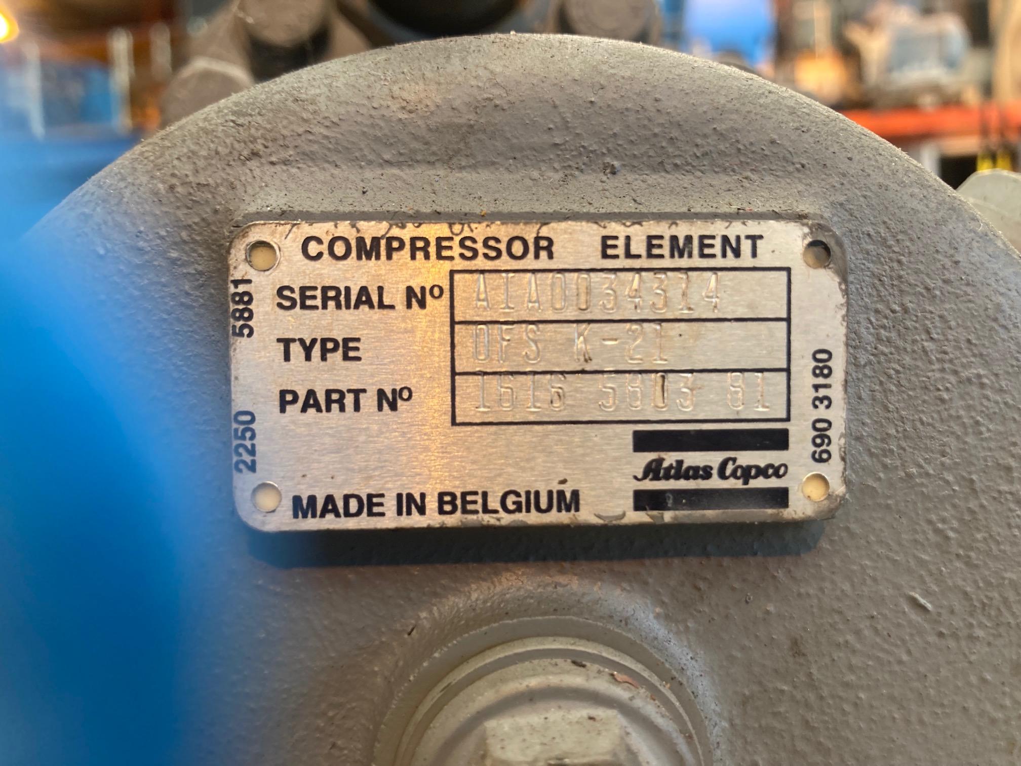 Atlas Copco Z element 1616580381
