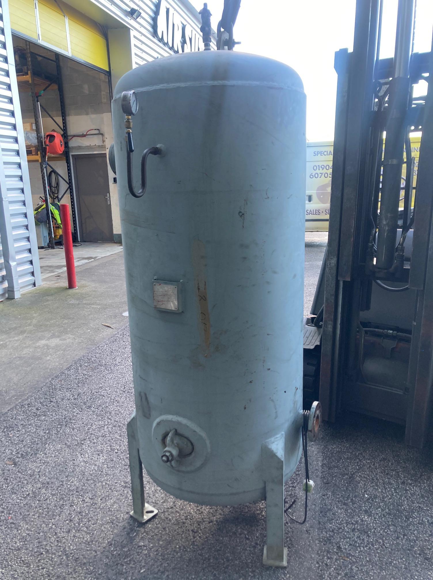 Vertical Air Receiver high pressure 13.4 bar 750 litre