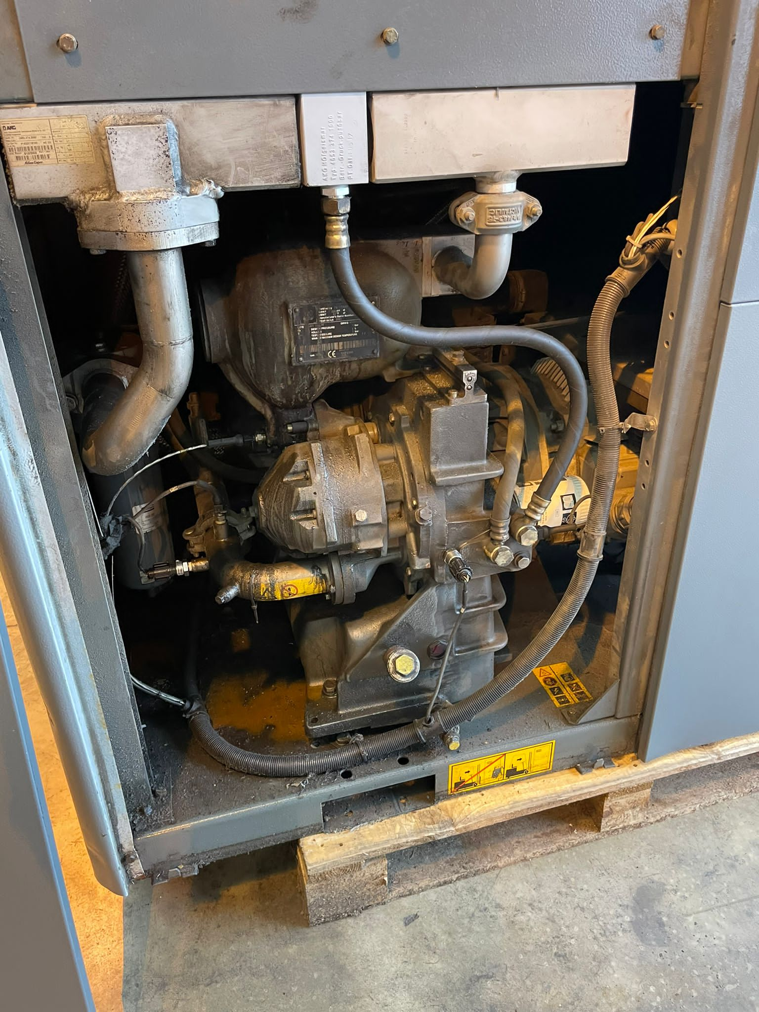 Atlas Copco ZT45 Oil Free air compressor