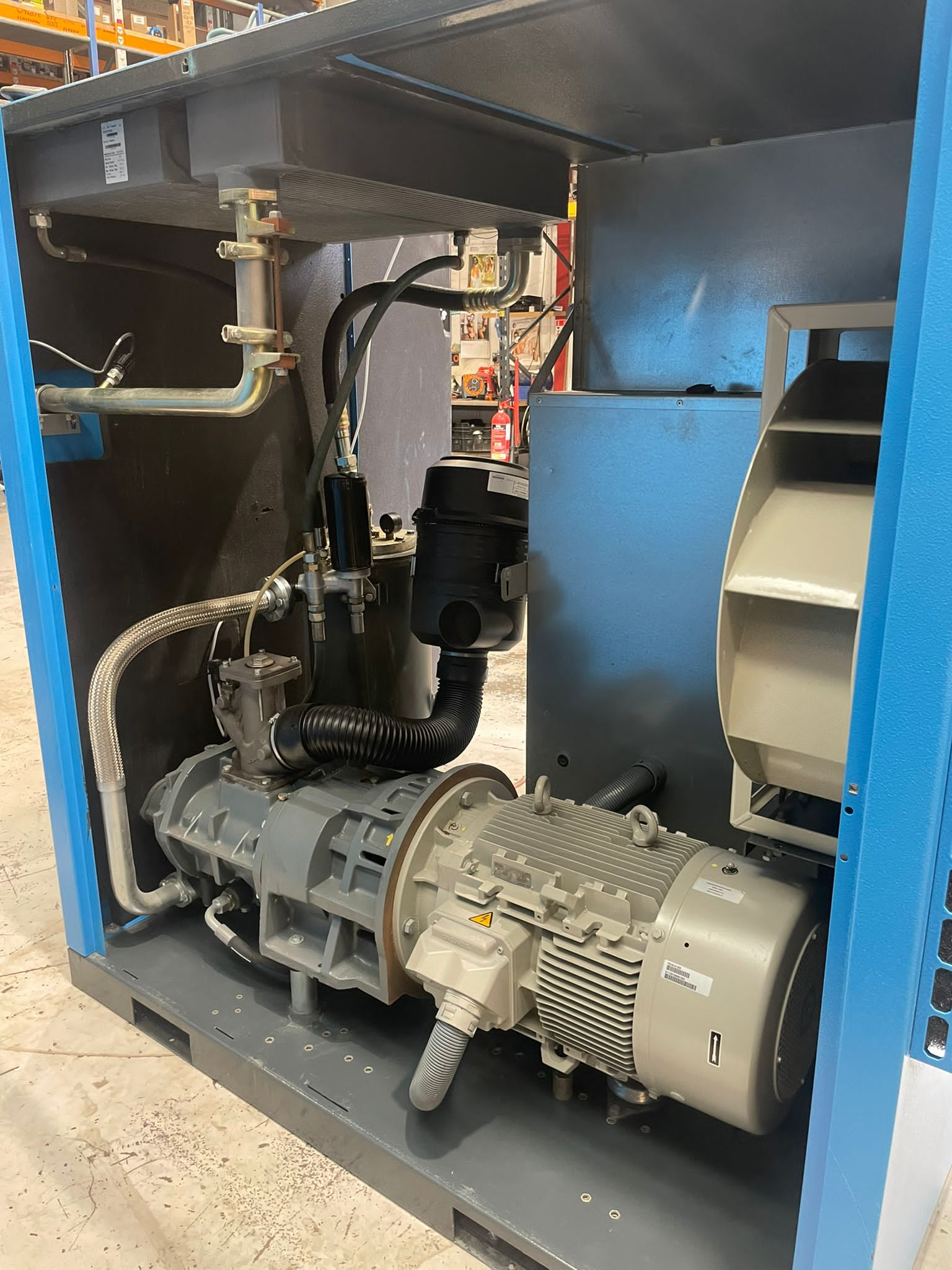 Alup Largo 45   45kw fixed speed air compressor