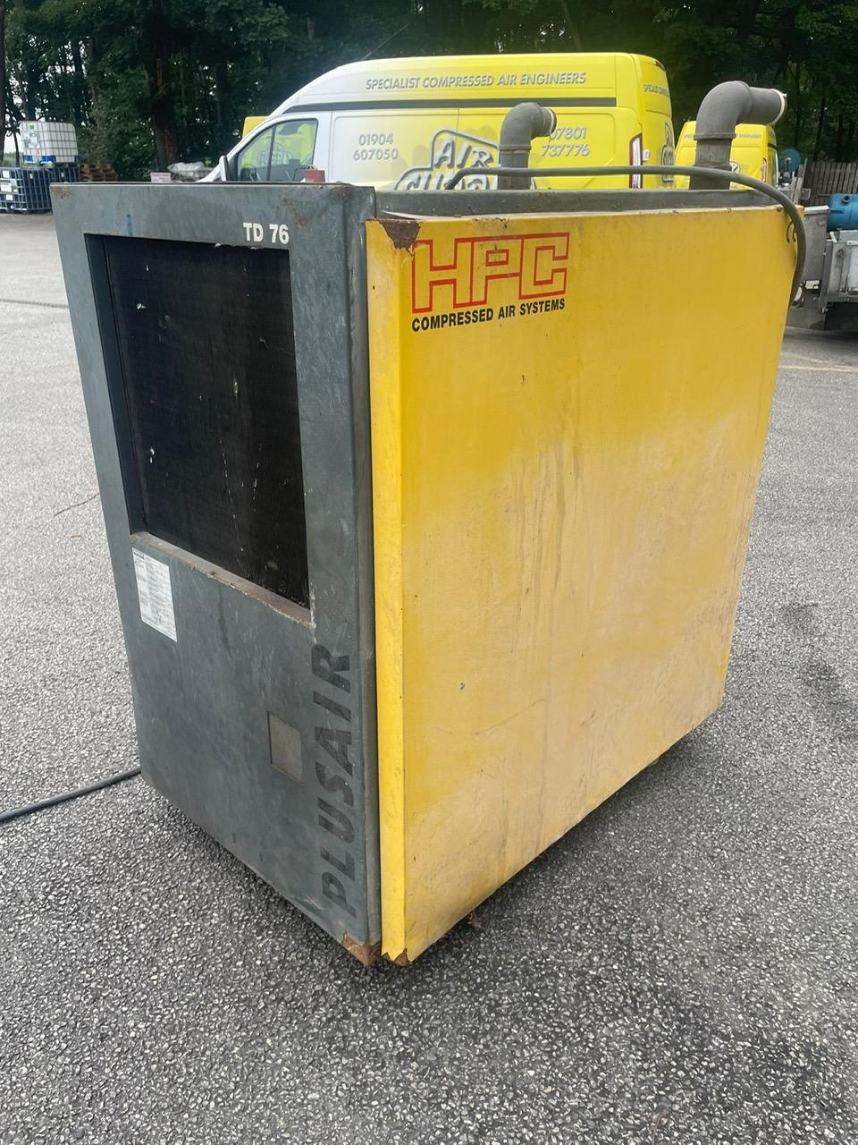 HPC TD76  270cfm refrigerant air dryer